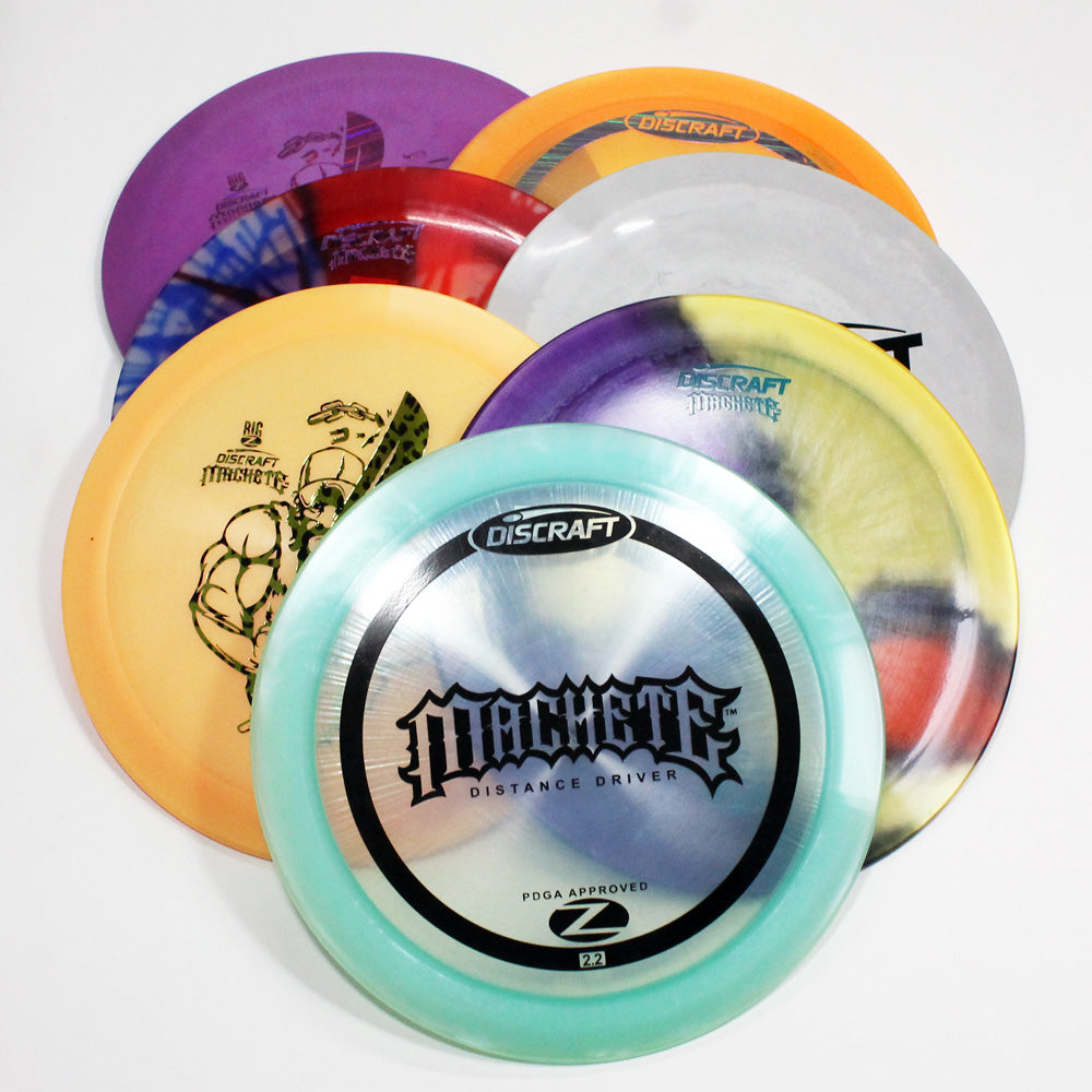 Discraft Machete Disc Golf- Distance Driver - Many Styles! Colors and Weight may Vary (167g -173g) Sold Individually - YoYoSam