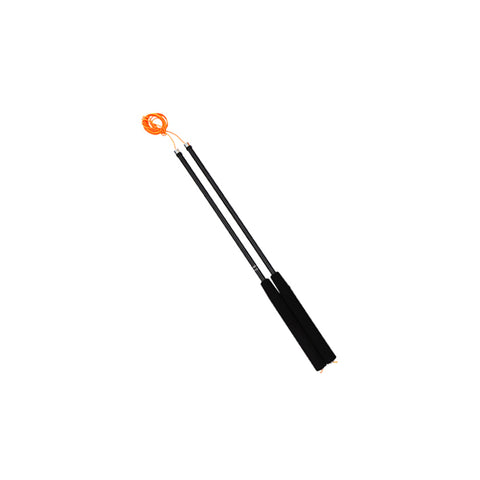 Henrys Diabolo Replacement Sticks Fiberglass 41 CM or - Black