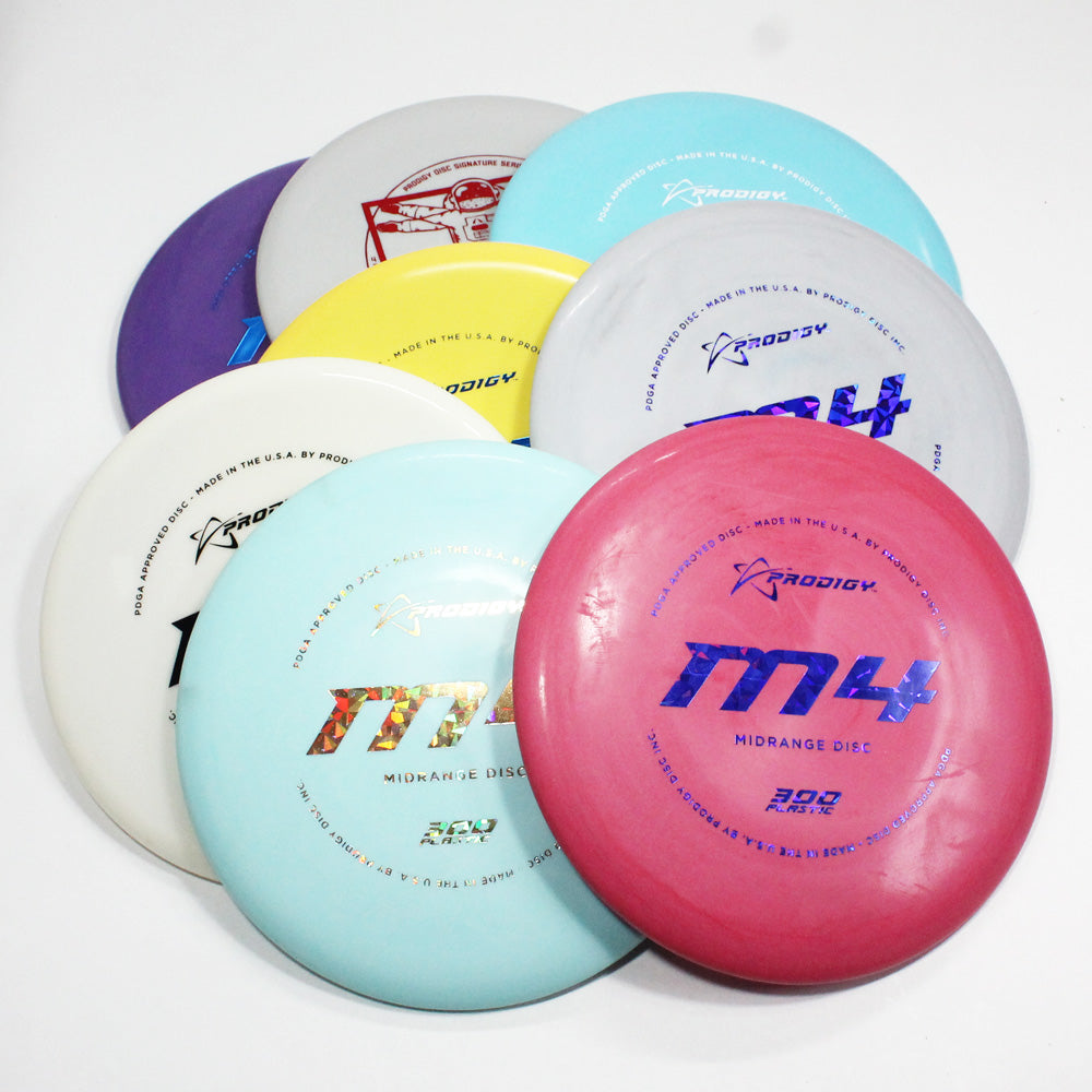Prodigy M4 300 Disc Golf- Midrange Disc - Many Styles! Colors and Weight may Vary (170g -176g) Sold Individually - YoYoSam