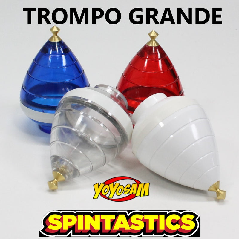 Spintastics Trompo Grande Fixed Tip Spin Top - YoYoSam
