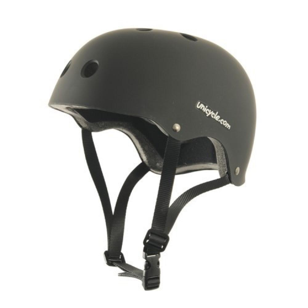 Unicycle Helmet - Removable Pads for sizing