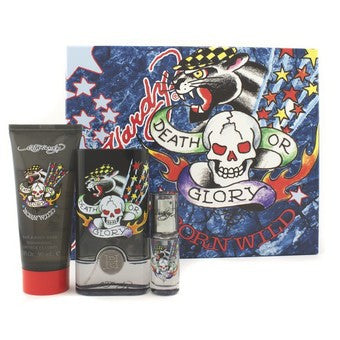 Ed Hardy Born Wild by Christian Audigier for men 3pcs Gift Set - Parfumerie Arome de vie