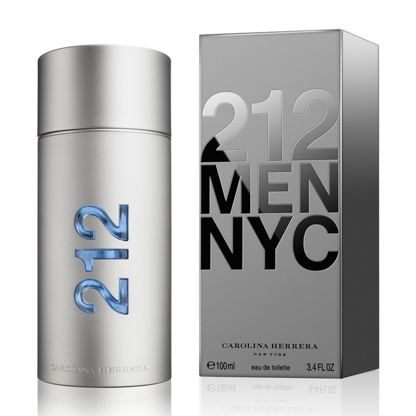 212 by Carolina Herrera for men - Parfumerie Arome de vie