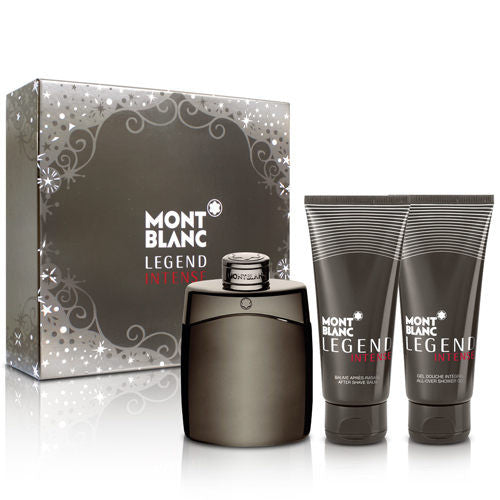 Legend Intense by Montblanc for men Gift Set - Parfumerie Arome de vie