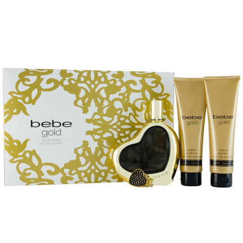 Gold by Bebe for women Gift Set - Parfumerie Arome de vie