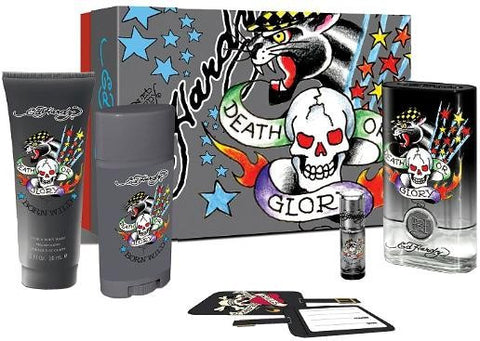 Ed Hardy Born Wild by Christian Audigier for men 5pcs Gift Set - Parfumerie Arome de vie