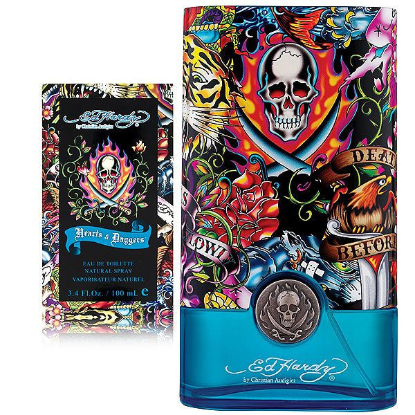 Ed Hardy Hearts & Daggers by Christian Audigier for men - Parfumerie Arome de vie