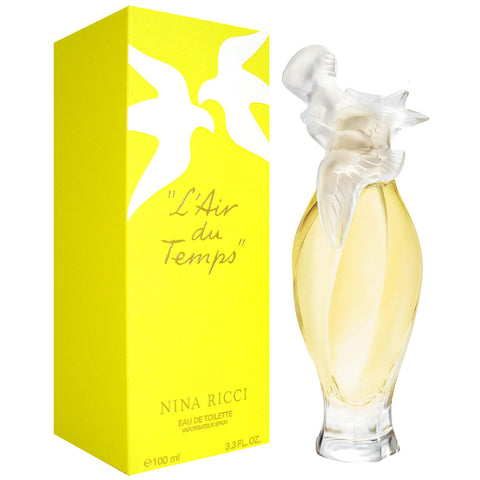 L'Air du Temps Eau de Toilette by Nina Ricci for women - Parfumerie Arome de vie