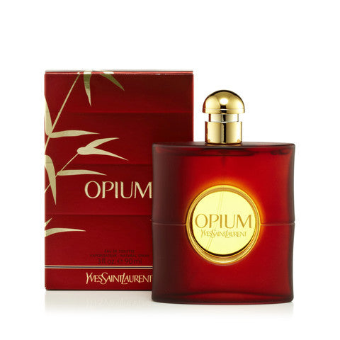 Opium Eau de Toilette by Yves Saint Laurent for women - Parfumerie Arome de vie
