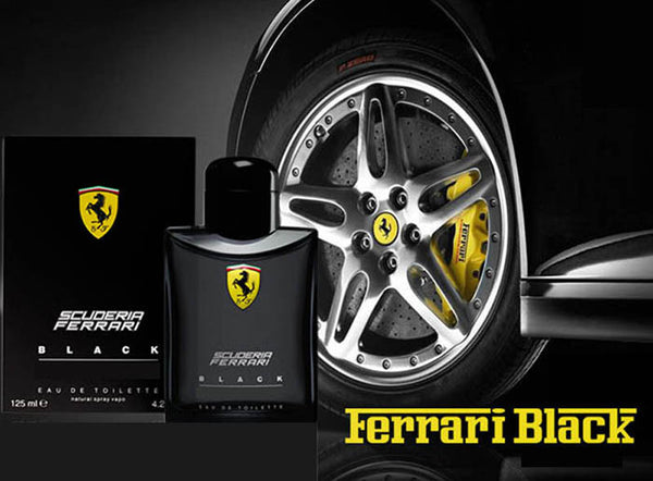 Scuderia Ferrari Black by Ferrari for men - Parfumerie Arome de vie - 2