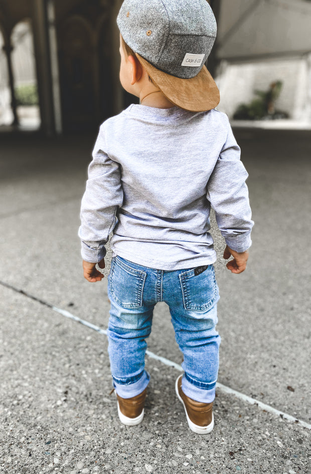 Little Bipsy Light Wash Denim