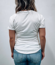 Women's Pocket Tee - White