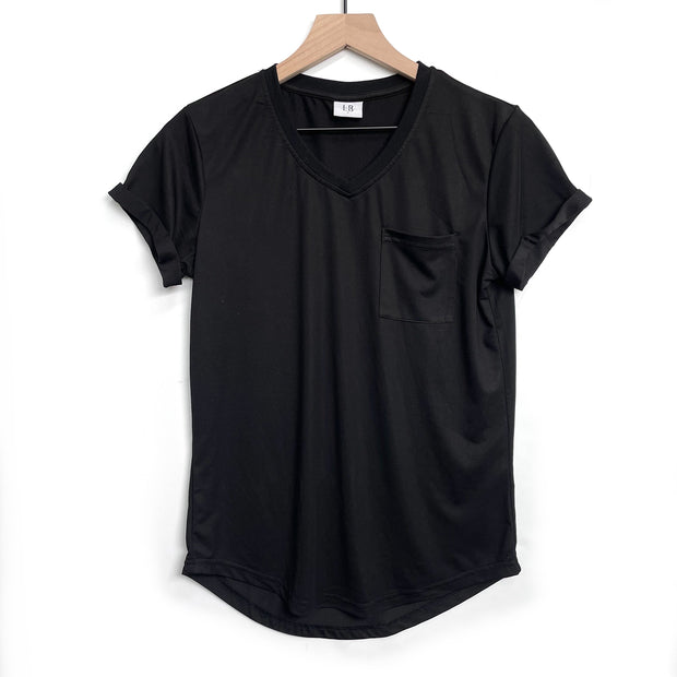 Women's Pocket Tee - Black