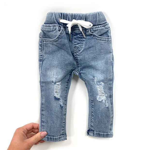 Little Bipsy Light Wash Denim Jeans