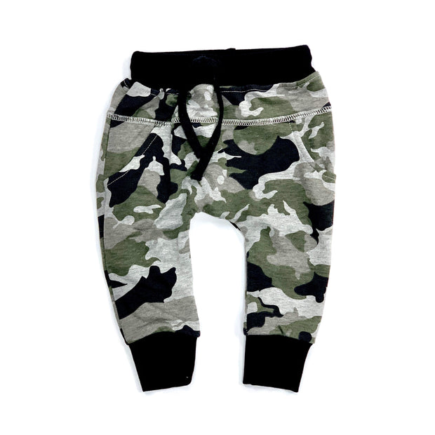 Little Bipsy Camo Joggers