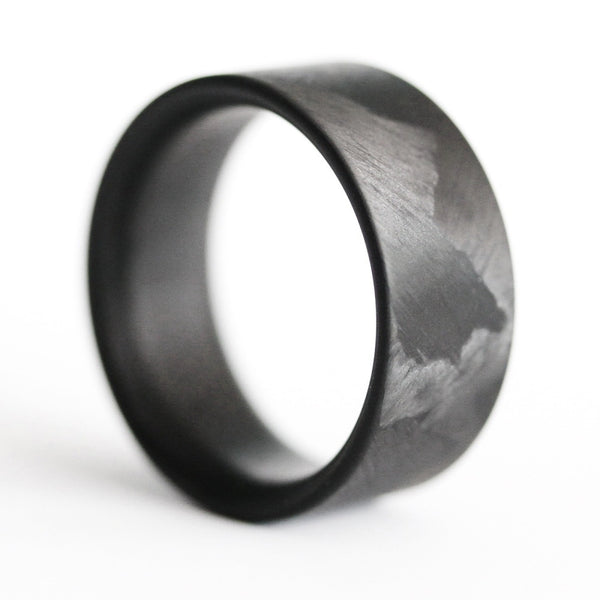 Filament Block Carbon Fiber Ring - Locabuy - 3