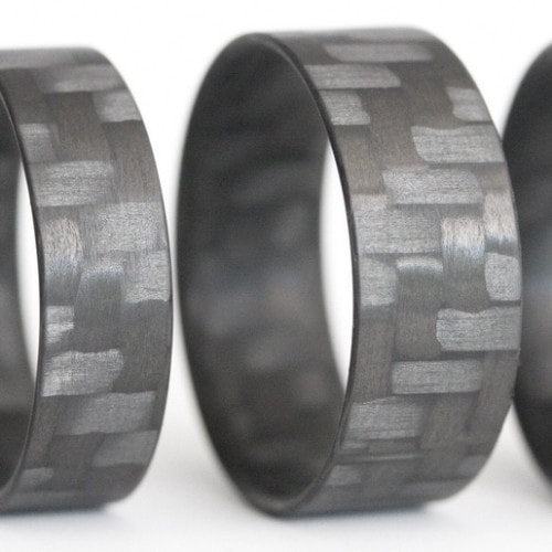 Twill Ultralight Carbon Fiber Ring - Locabuy - 1