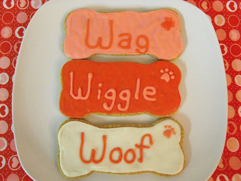 Wiggle, Wag, n Woof - 3 Pack Dog treat - Locabuy - PAWFECTION BAKERY