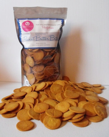 Grain Free Peanut Butter Bites - 18 oz - Locabuy - PAWFECTION BAKERY