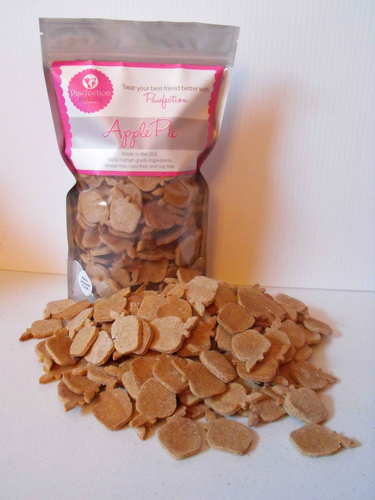 Apple Pie Dog Treats - 18oz Bag - Locabuy - PAWFECTION BAKERY