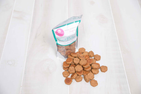 Peanut Butter Paws Dog Treats - 8oz Bag - Locabuy - PAWFECTION BAKERY