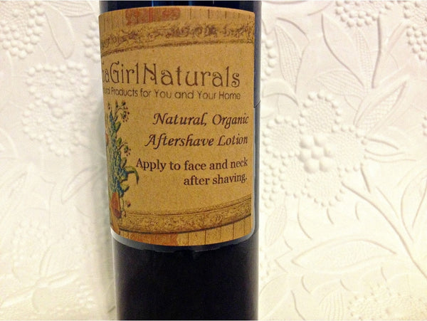 Natural Organic Aftershave Lotion For Men - Locabuy - GaGirlNaturals - 1
