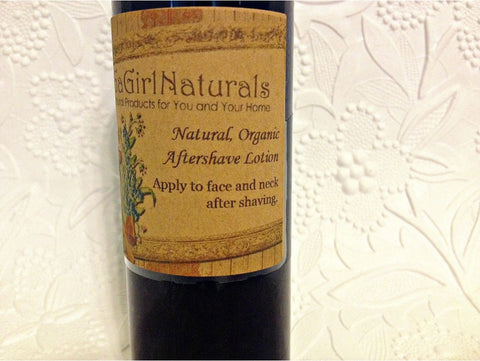 Natural Organic Aftershave Lotion For Men