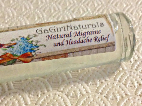 Migraine and Headache Natural Relief Aromatherapy Roll On - Locabuy - GaGirlNaturals - 2