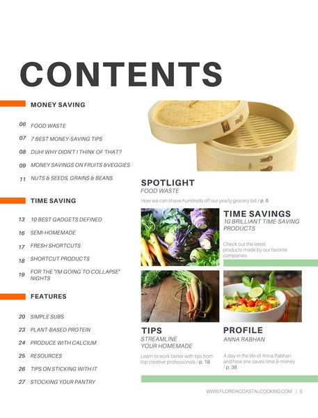Time & Dine Saving Plan w/ Bonus 6 Ingredient or Less Cookbook - Digital Download - Locabuy - Cooking & Wellness With Dawn - 2