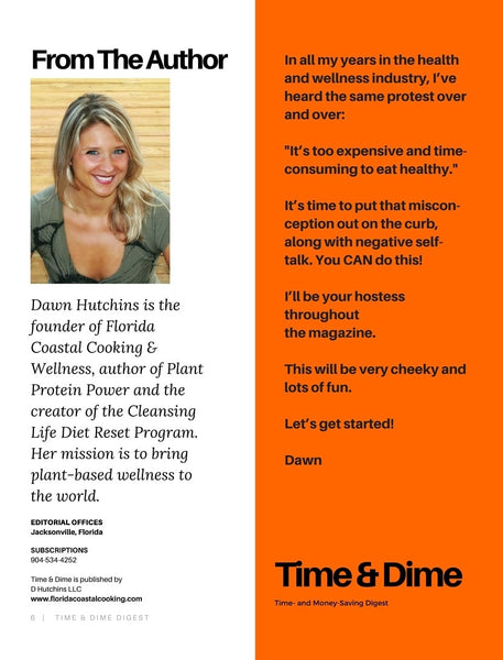 Time & Dine Saving Plan w/ Bonus 6 Ingredient or Less Cookbook - Digital Download - Locabuy - Cooking & Wellness With Dawn - 3