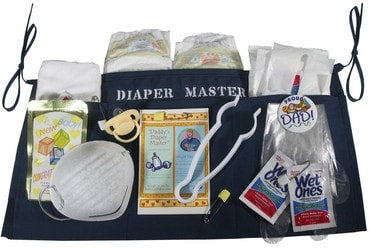 Diaper Master Funny Gift For New Dad's or Grandpa's - Locabuy - Baby Gift Idea