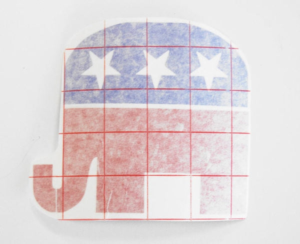 Democrat & Republican Decals - Locabuy - Foxtrot Creative Studio - 3