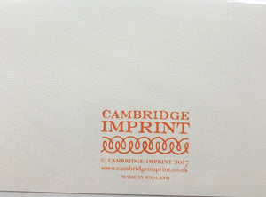 Cambridge Imprints  - click for designs from this collection - SHAKSPEARE GLASS