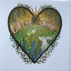 Love From The Artist  - click for designs from this collection - SHAKSPEARE GLASS