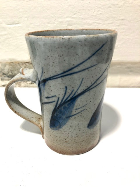 Rob Goldsmith Fish Mug - SHAKSPEARE GLASS