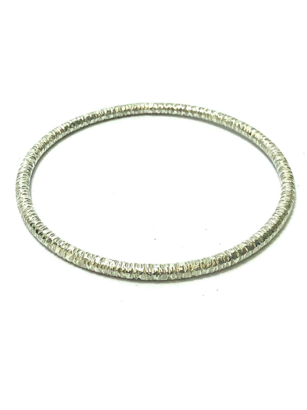 Mackay and Pearson Hammered Bangle - SHAKSPEARE GLASS