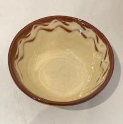 St Werburghs Pottery Small Glazed Bowl