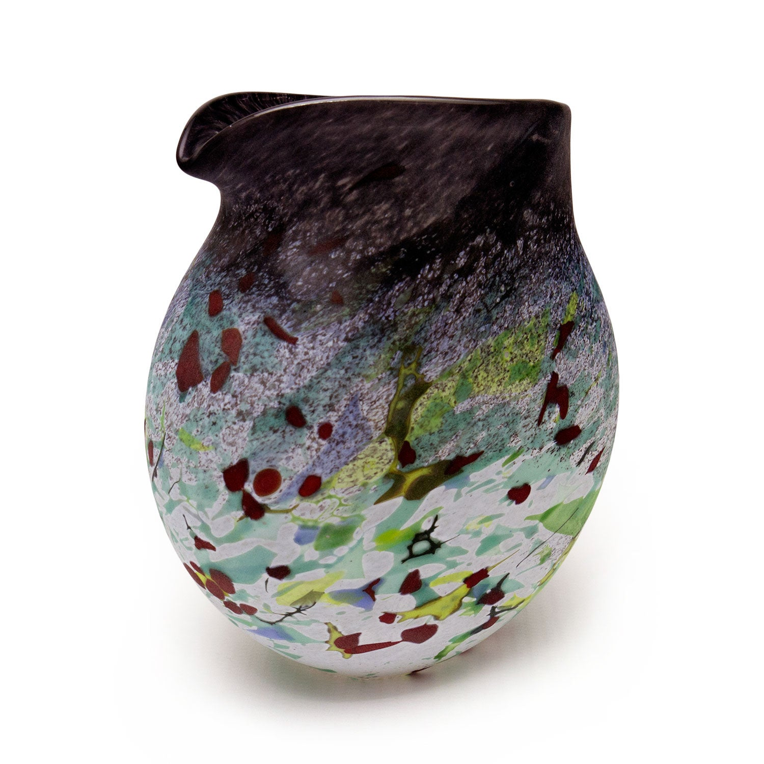 Winter Hedgerow Clutch Vase