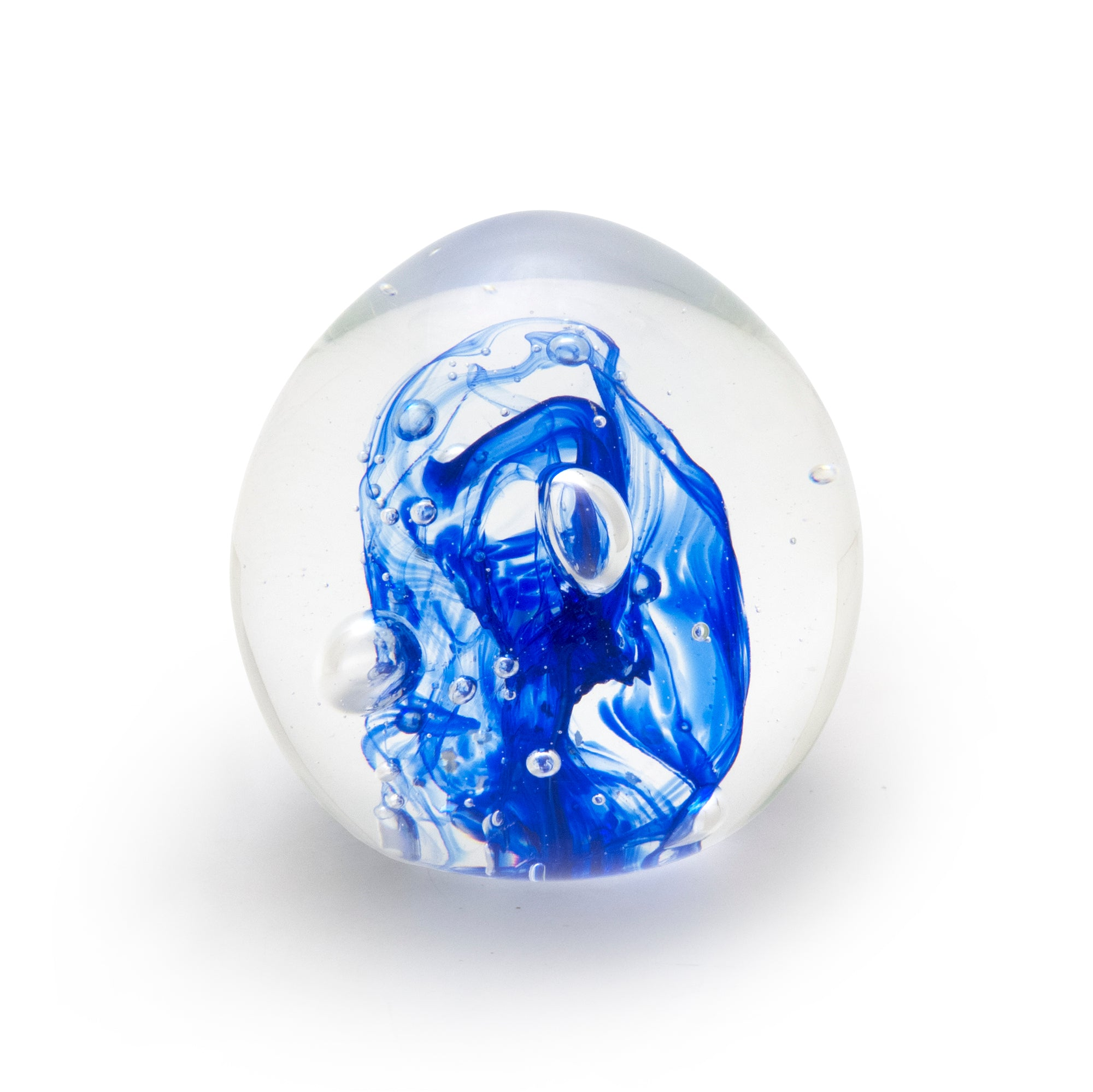 Small Blue Paperweight