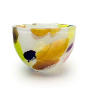Nougat Small Bowl - SHAKSPEARE GLASS