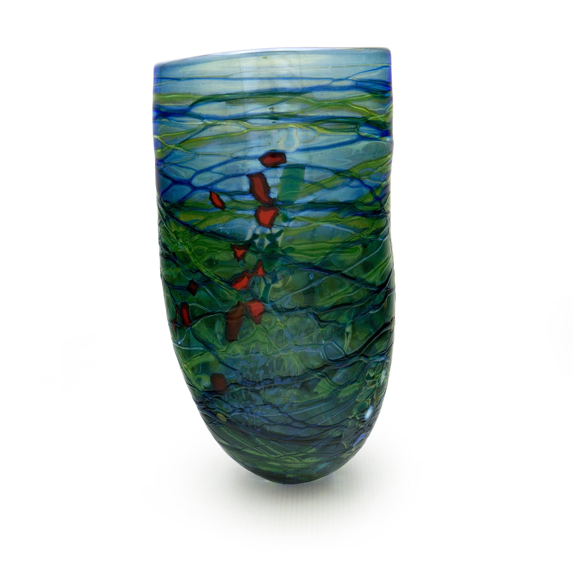 Boulder Series Vase - SHAKSPEARE GLASS