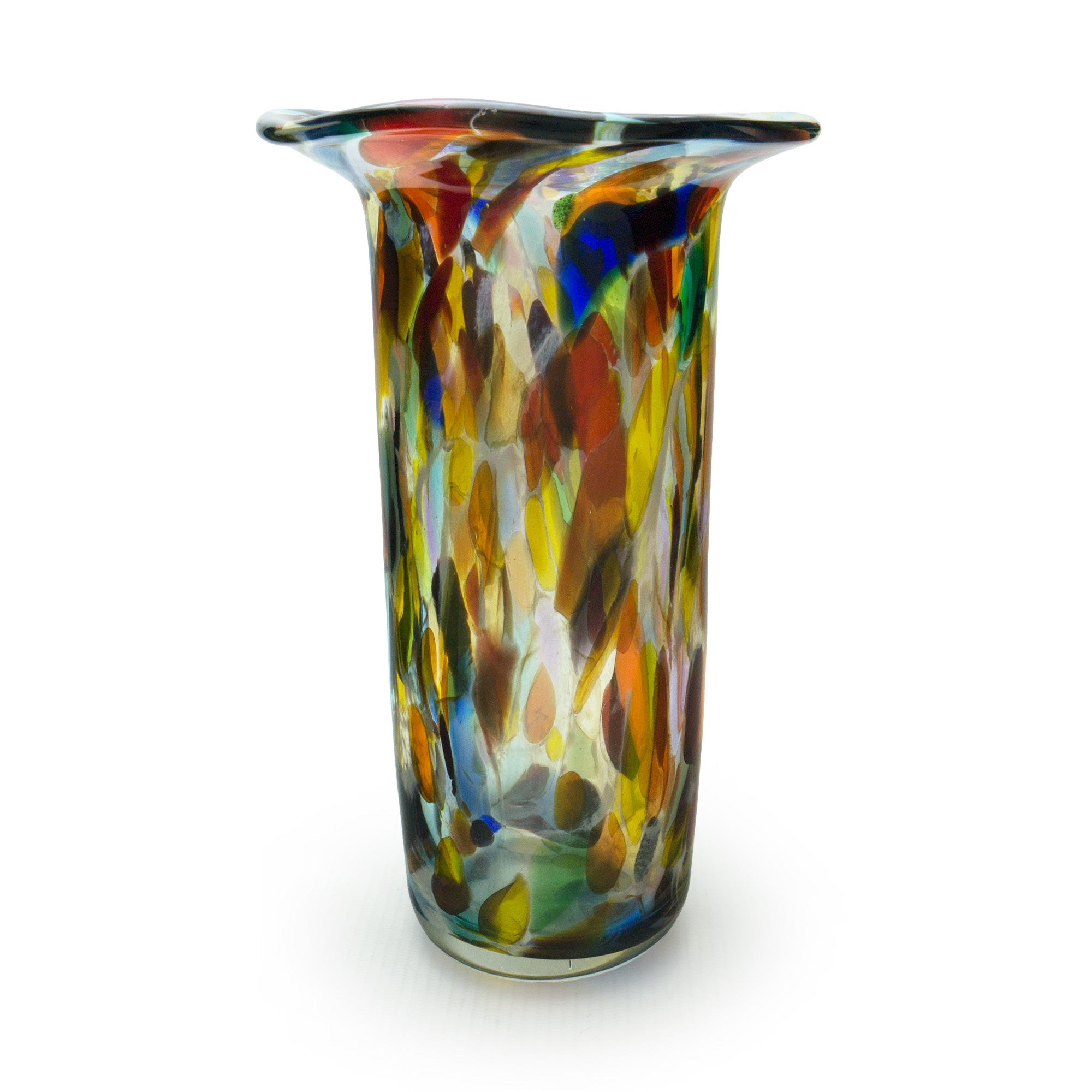 Gaudi Lipped Vase - SHAKSPEARE GLASS