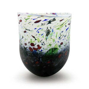 Winter Hedgerow Open Vase - SHAKSPEARE GLASS