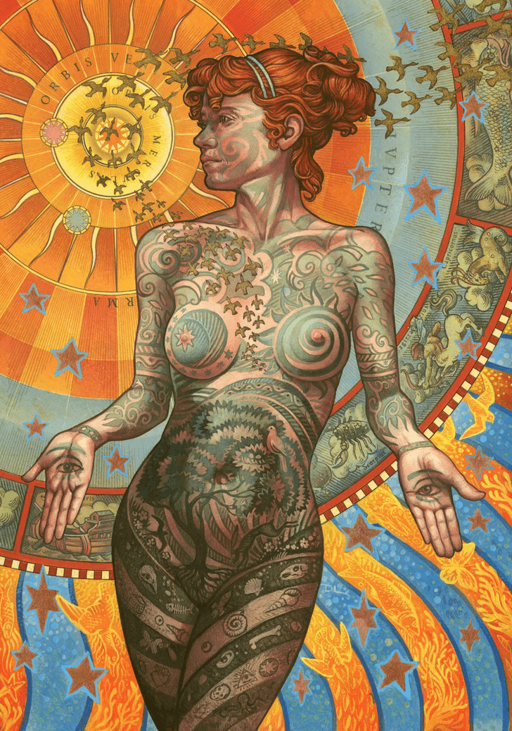 David Lawrence The Tattooed Lady