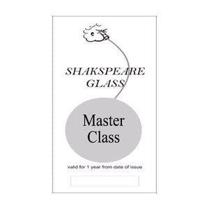 Glass Blowing Master Class Voucher - SHAKSPEARE GLASS