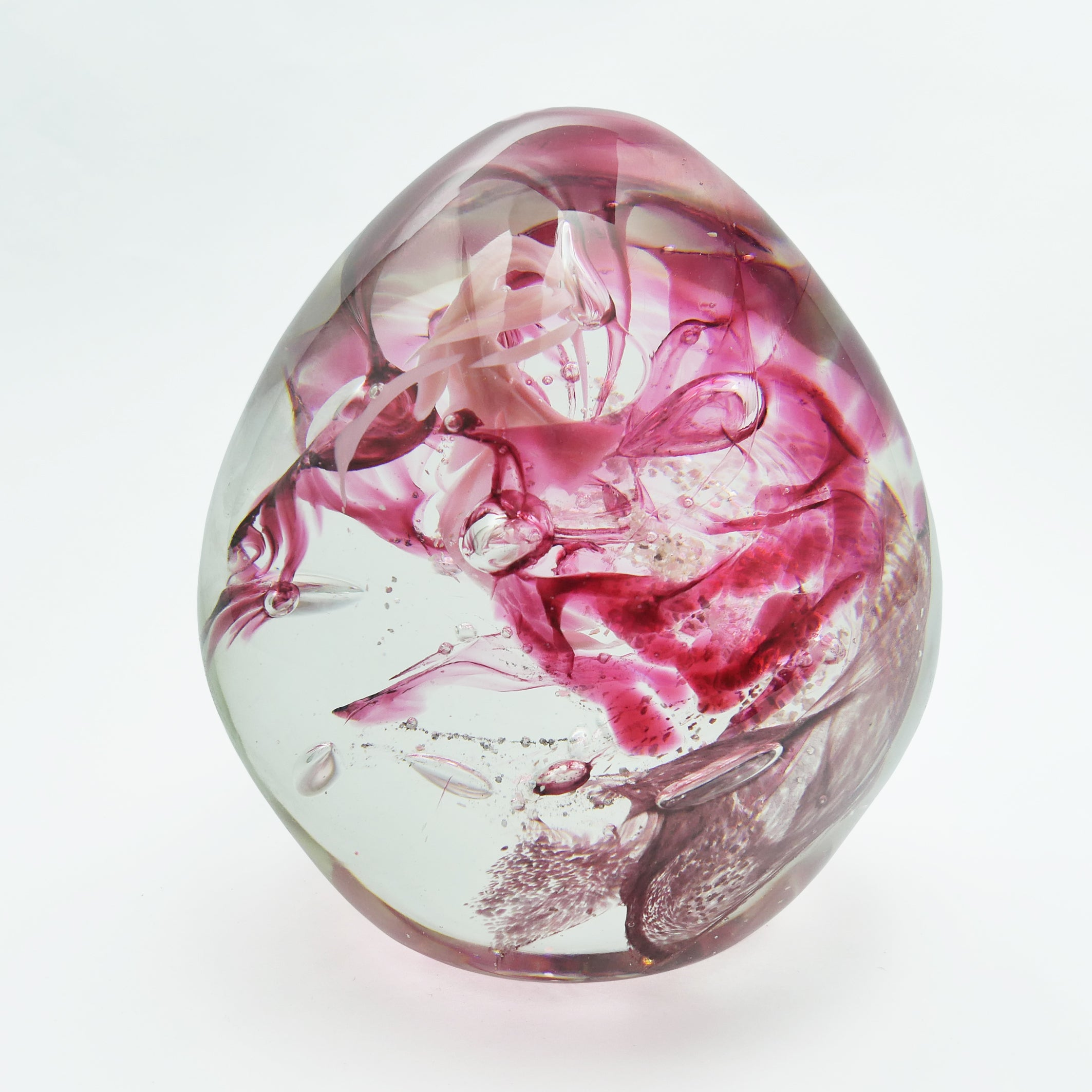 Extra Large Pink Chaos Paperweight