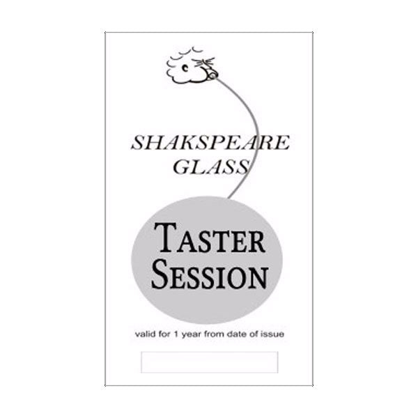 Glass Blowing Taster Class Voucher - SHAKSPEARE GLASS