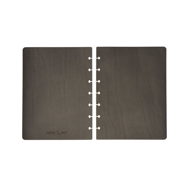 Large Century Covers (Black) Premium Journal - Pacific and West