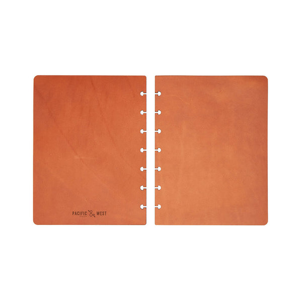 Large Century Covers (Tan) Discbound Journal - Pacific and West