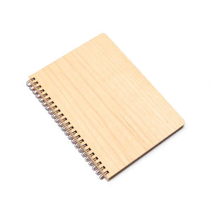 Large Wood Notebook (Maple) Premium Journal - Pacific and West